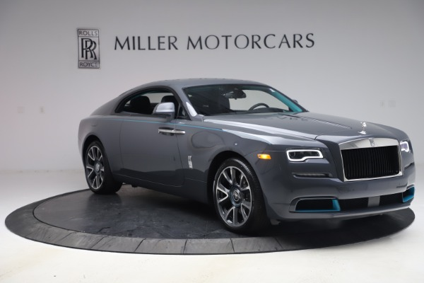 New 2021 Rolls-Royce Wraith KRYPTOS for sale $450,550 at Rolls-Royce Motor Cars Greenwich in Greenwich CT 06830 12