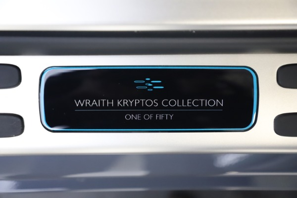 New 2021 Rolls-Royce Wraith KRYPTOS for sale Call for price at Rolls-Royce Motor Cars Greenwich in Greenwich CT 06830 26