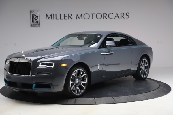 New 2021 Rolls-Royce Wraith KRYPTOS for sale $450,550 at Rolls-Royce Motor Cars Greenwich in Greenwich CT 06830 3