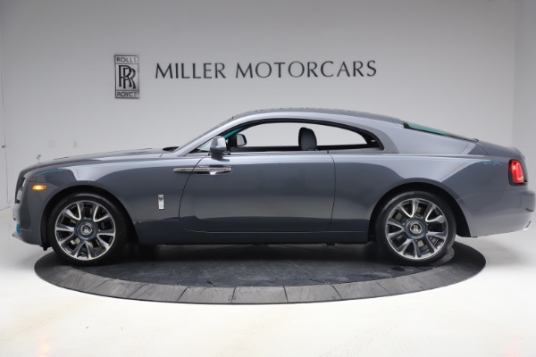 New 2021 Rolls-Royce Wraith KRYPTOS for sale $450,550 at Rolls-Royce Motor Cars Greenwich in Greenwich CT 06830 4