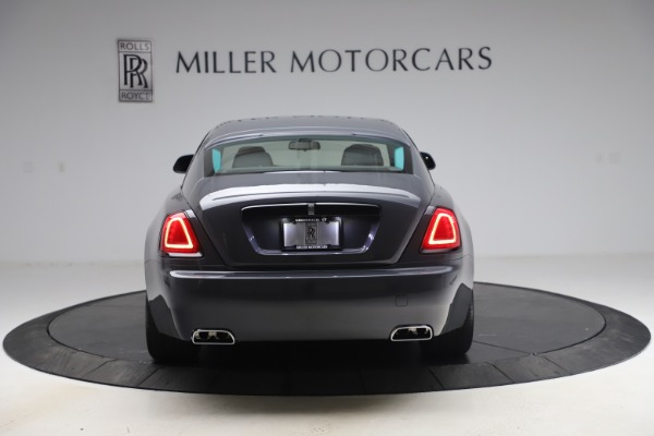 New 2021 Rolls-Royce Wraith KRYPTOS for sale $450,550 at Rolls-Royce Motor Cars Greenwich in Greenwich CT 06830 7
