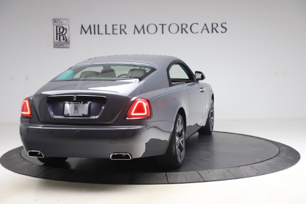 New 2021 Rolls-Royce Wraith KRYPTOS for sale $450,550 at Rolls-Royce Motor Cars Greenwich in Greenwich CT 06830 8