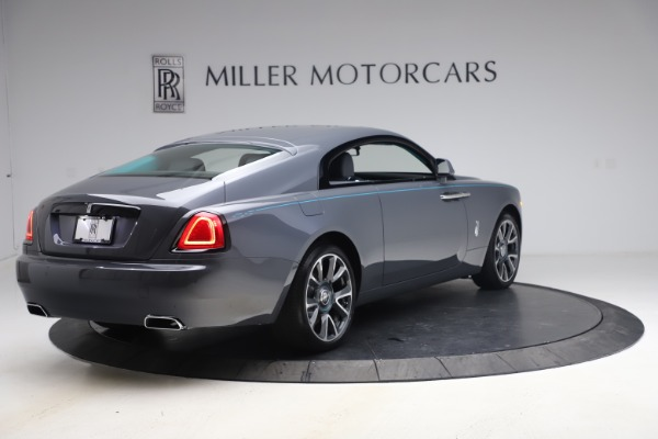 New 2021 Rolls-Royce Wraith KRYPTOS for sale $450,550 at Rolls-Royce Motor Cars Greenwich in Greenwich CT 06830 9