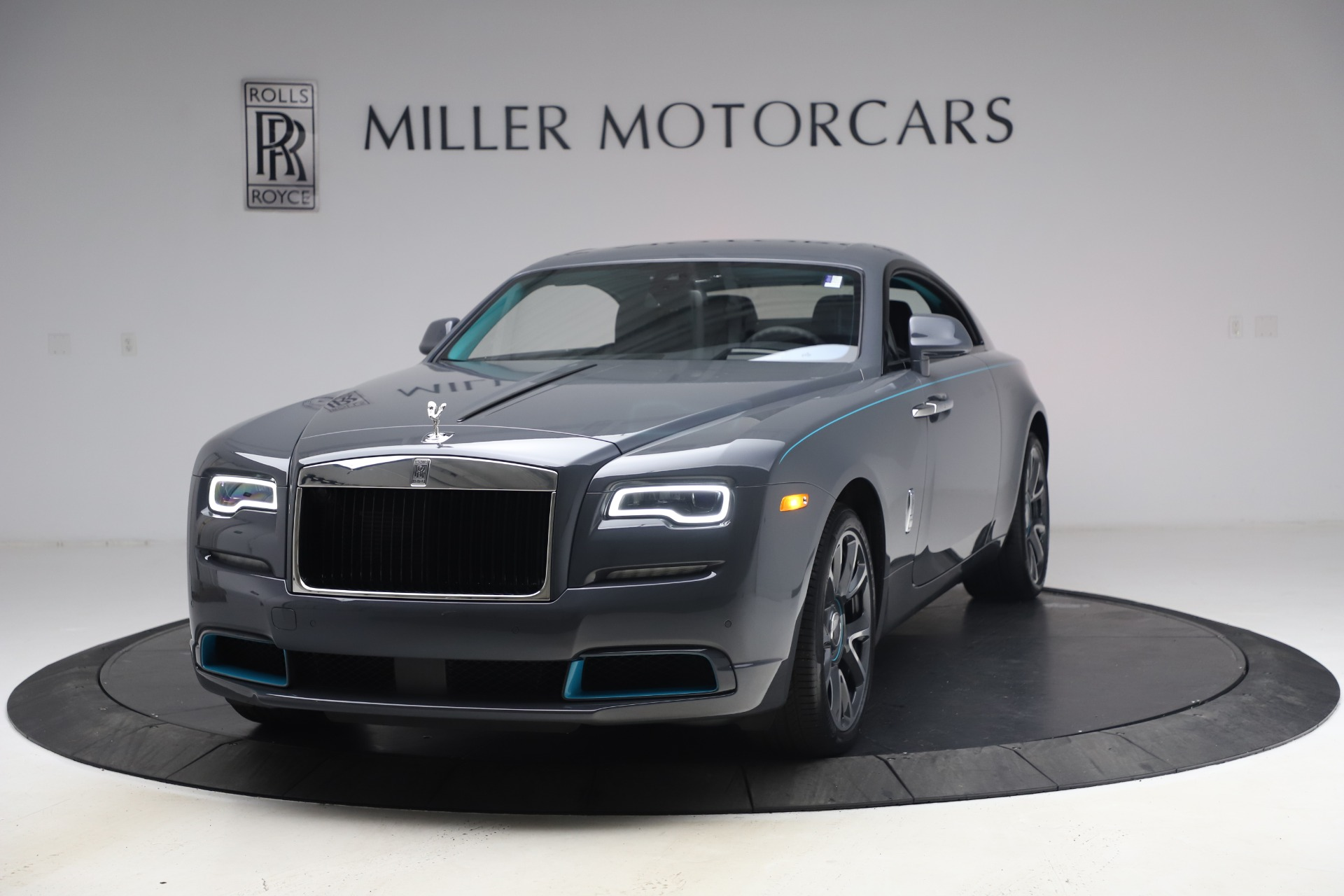 New 2021 Rolls-Royce Wraith KRYPTOS for sale $450,550 at Rolls-Royce Motor Cars Greenwich in Greenwich CT 06830 1
