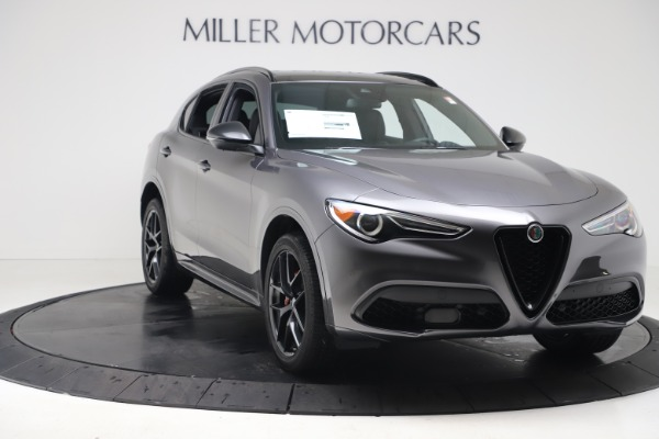 New 2020 Alfa Romeo Stelvio Ti Sport Q4 for sale $55,995 at Rolls-Royce Motor Cars Greenwich in Greenwich CT 06830 11
