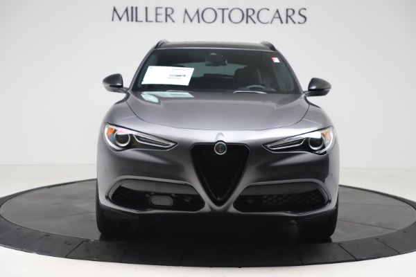 New 2020 Alfa Romeo Stelvio Ti Sport Q4 for sale $55,995 at Rolls-Royce Motor Cars Greenwich in Greenwich CT 06830 12