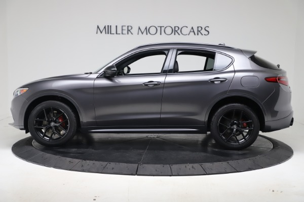 New 2020 Alfa Romeo Stelvio Ti Sport Q4 for sale $55,995 at Rolls-Royce Motor Cars Greenwich in Greenwich CT 06830 3