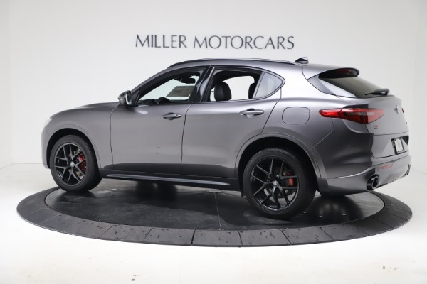 New 2020 Alfa Romeo Stelvio Ti Sport Q4 for sale $55,995 at Rolls-Royce Motor Cars Greenwich in Greenwich CT 06830 4