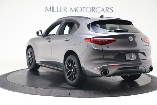 New 2020 Alfa Romeo Stelvio Ti Sport Q4 for sale $55,995 at Rolls-Royce Motor Cars Greenwich in Greenwich CT 06830 5