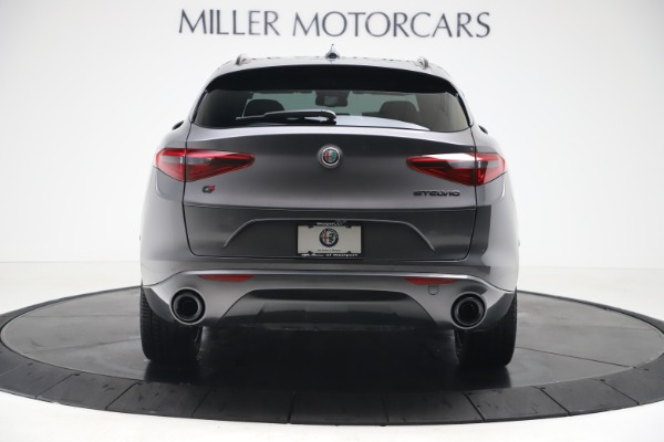 New 2020 Alfa Romeo Stelvio Ti Sport Q4 for sale $55,995 at Rolls-Royce Motor Cars Greenwich in Greenwich CT 06830 6