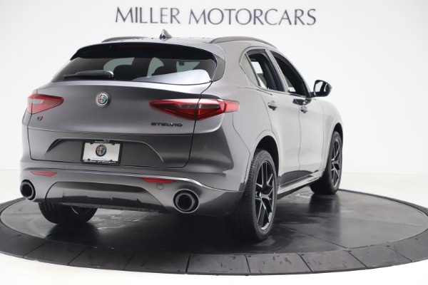 New 2020 Alfa Romeo Stelvio Ti Sport Q4 for sale $55,995 at Rolls-Royce Motor Cars Greenwich in Greenwich CT 06830 7