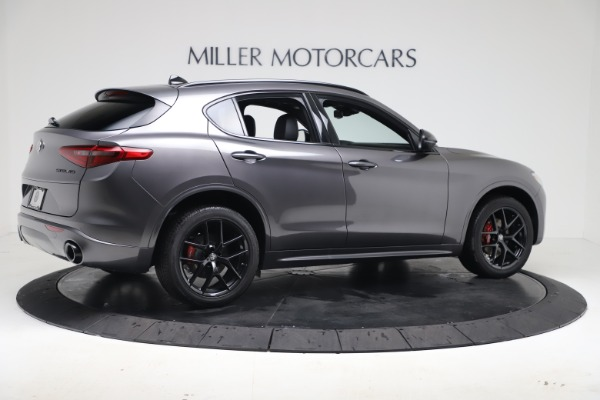 New 2020 Alfa Romeo Stelvio Ti Sport Q4 for sale $55,995 at Rolls-Royce Motor Cars Greenwich in Greenwich CT 06830 8