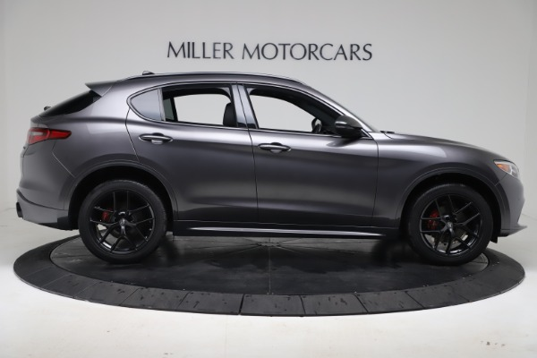 New 2020 Alfa Romeo Stelvio Ti Sport Q4 for sale $55,995 at Rolls-Royce Motor Cars Greenwich in Greenwich CT 06830 9