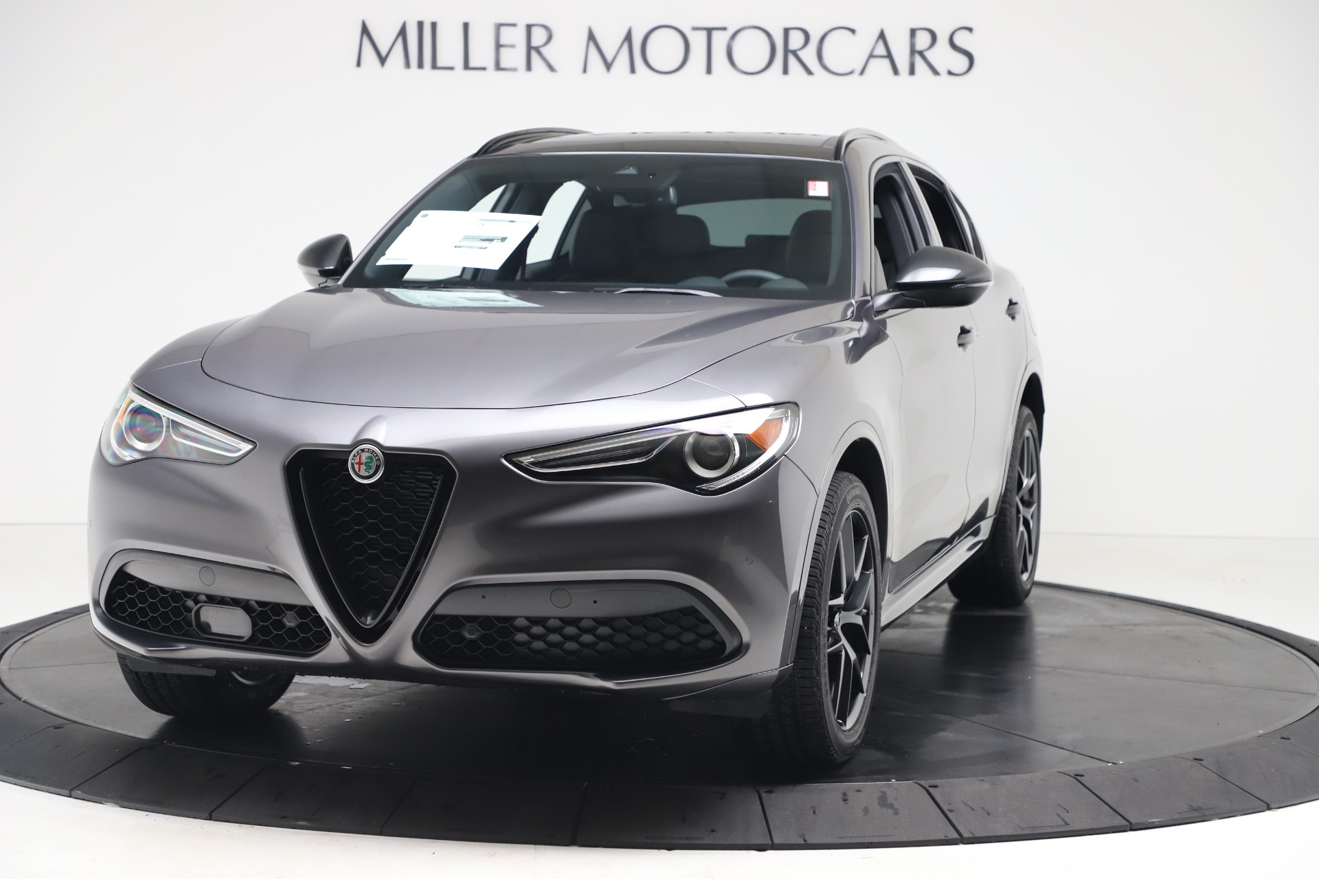New 2020 Alfa Romeo Stelvio Ti Sport Q4 for sale $55,995 at Rolls-Royce Motor Cars Greenwich in Greenwich CT 06830 1