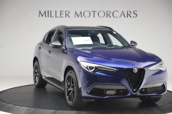 New 2020 Alfa Romeo Stelvio Ti Sport Q4 for sale $55,995 at Rolls-Royce Motor Cars Greenwich in Greenwich CT 06830 11