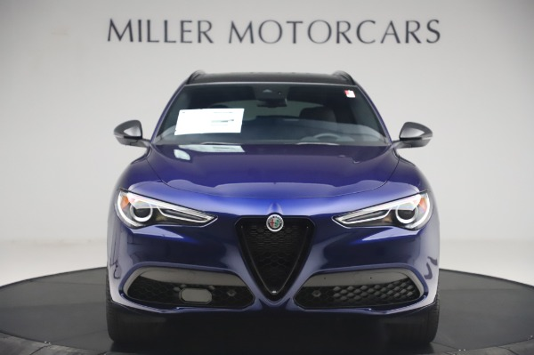 New 2020 Alfa Romeo Stelvio Ti Sport Q4 for sale $55,995 at Rolls-Royce Motor Cars Greenwich in Greenwich CT 06830 12