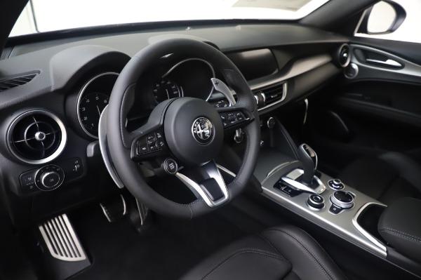 New 2020 Alfa Romeo Stelvio Ti Sport Q4 for sale $55,995 at Rolls-Royce Motor Cars Greenwich in Greenwich CT 06830 13