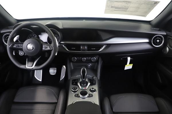 New 2020 Alfa Romeo Stelvio Ti Sport Q4 for sale $55,995 at Rolls-Royce Motor Cars Greenwich in Greenwich CT 06830 16