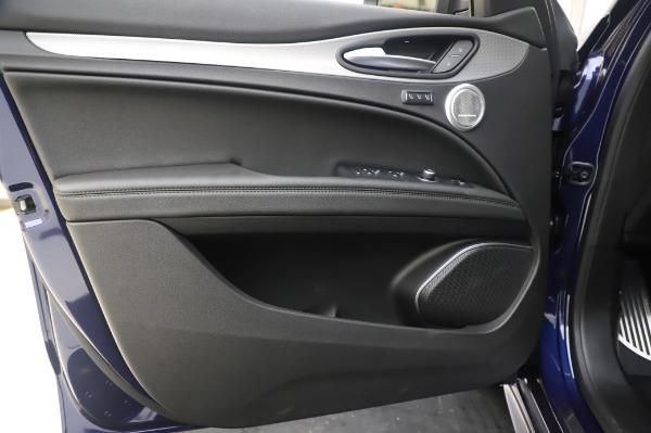 New 2020 Alfa Romeo Stelvio Ti Sport Q4 for sale $55,995 at Rolls-Royce Motor Cars Greenwich in Greenwich CT 06830 17