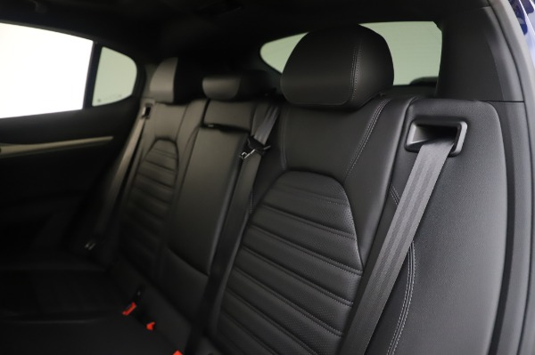 New 2020 Alfa Romeo Stelvio Ti Sport Q4 for sale $55,995 at Rolls-Royce Motor Cars Greenwich in Greenwich CT 06830 18