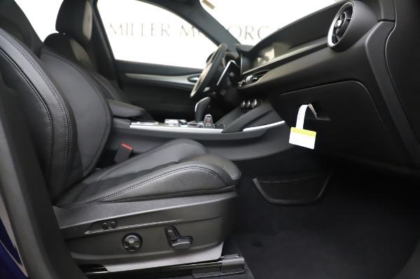 New 2020 Alfa Romeo Stelvio Ti Sport Q4 for sale $55,995 at Rolls-Royce Motor Cars Greenwich in Greenwich CT 06830 23