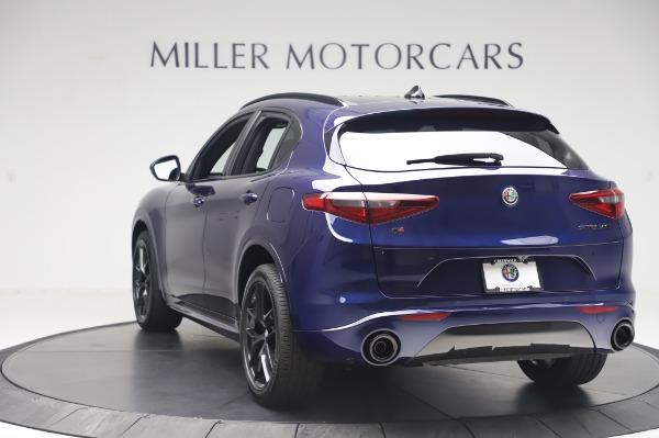 New 2020 Alfa Romeo Stelvio Ti Sport Q4 for sale $55,995 at Rolls-Royce Motor Cars Greenwich in Greenwich CT 06830 5