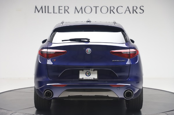 New 2020 Alfa Romeo Stelvio Ti Sport Q4 for sale $55,995 at Rolls-Royce Motor Cars Greenwich in Greenwich CT 06830 6