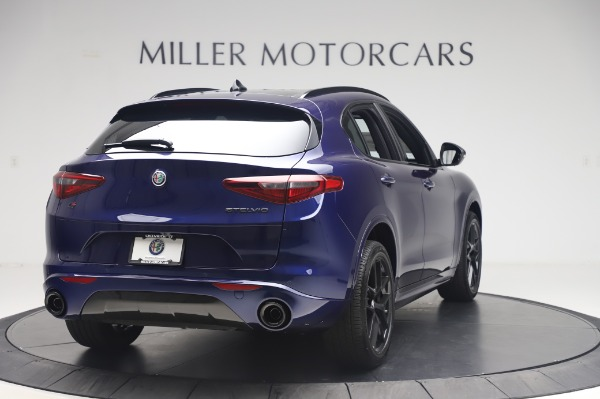 New 2020 Alfa Romeo Stelvio Ti Sport Q4 for sale $55,995 at Rolls-Royce Motor Cars Greenwich in Greenwich CT 06830 7