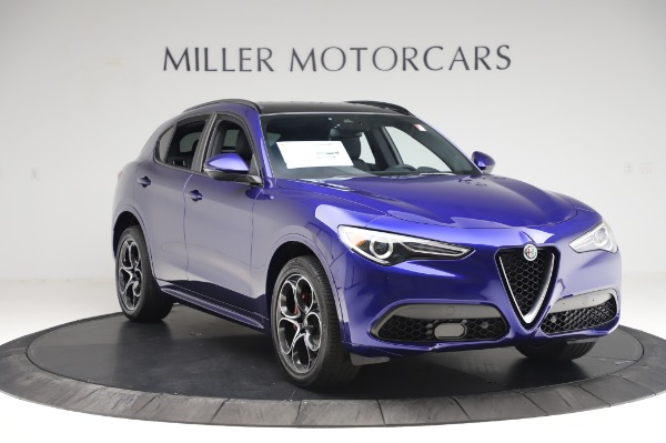 New 2020 Alfa Romeo Stelvio Ti Sport Q4 for sale $57,045 at Rolls-Royce Motor Cars Greenwich in Greenwich CT 06830 11