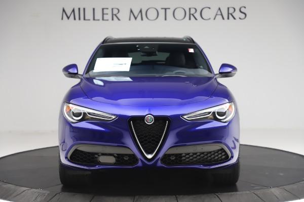 New 2020 Alfa Romeo Stelvio Ti Sport Q4 for sale $57,045 at Rolls-Royce Motor Cars Greenwich in Greenwich CT 06830 12