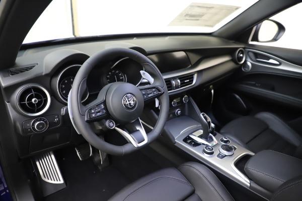 New 2020 Alfa Romeo Stelvio Ti Sport Q4 for sale $57,045 at Rolls-Royce Motor Cars Greenwich in Greenwich CT 06830 13