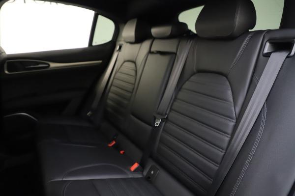 New 2020 Alfa Romeo Stelvio Ti Sport Q4 for sale $57,045 at Rolls-Royce Motor Cars Greenwich in Greenwich CT 06830 18