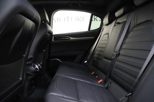 New 2020 Alfa Romeo Stelvio Ti Sport Q4 for sale $57,045 at Rolls-Royce Motor Cars Greenwich in Greenwich CT 06830 19