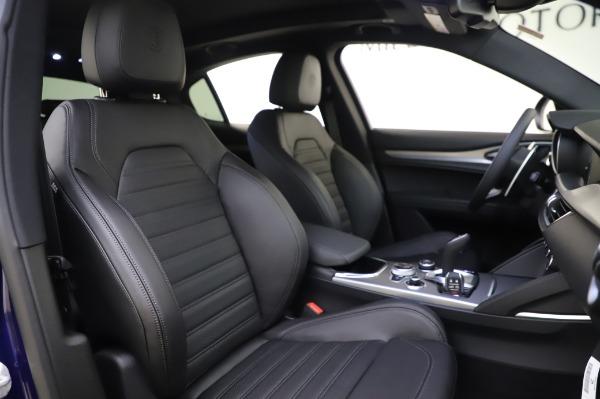 New 2020 Alfa Romeo Stelvio Ti Sport Q4 for sale $57,045 at Rolls-Royce Motor Cars Greenwich in Greenwich CT 06830 22
