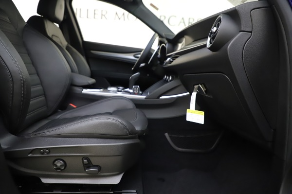 New 2020 Alfa Romeo Stelvio Ti Sport Q4 for sale $52,045 at Rolls-Royce Motor Cars Greenwich in Greenwich CT 06830 23