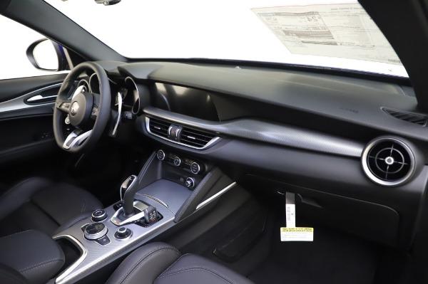 New 2020 Alfa Romeo Stelvio Ti Sport Q4 for sale $52,045 at Rolls-Royce Motor Cars Greenwich in Greenwich CT 06830 24