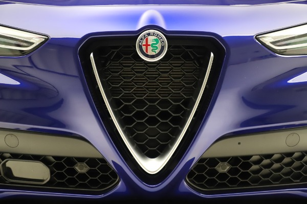 New 2020 Alfa Romeo Stelvio Ti Sport Q4 for sale $57,045 at Rolls-Royce Motor Cars Greenwich in Greenwich CT 06830 27