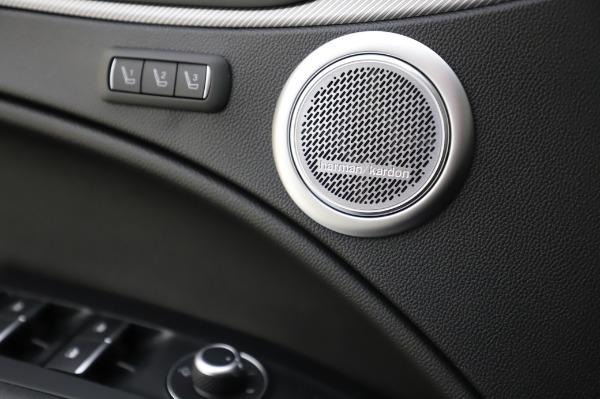 New 2020 Alfa Romeo Stelvio Ti Sport Q4 for sale $52,045 at Rolls-Royce Motor Cars Greenwich in Greenwich CT 06830 28