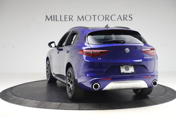 New 2020 Alfa Romeo Stelvio Ti Sport Q4 for sale $52,045 at Rolls-Royce Motor Cars Greenwich in Greenwich CT 06830 5