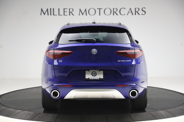 New 2020 Alfa Romeo Stelvio Ti Sport Q4 for sale $57,045 at Rolls-Royce Motor Cars Greenwich in Greenwich CT 06830 6