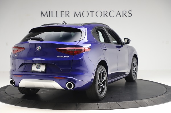 New 2020 Alfa Romeo Stelvio Ti Sport Q4 for sale $52,045 at Rolls-Royce Motor Cars Greenwich in Greenwich CT 06830 7
