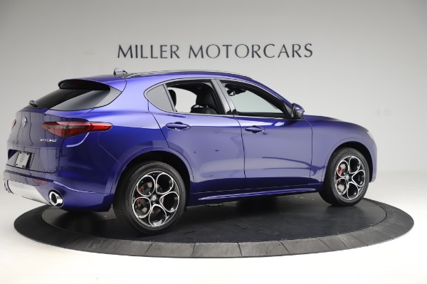 New 2020 Alfa Romeo Stelvio Ti Sport Q4 for sale $52,045 at Rolls-Royce Motor Cars Greenwich in Greenwich CT 06830 8