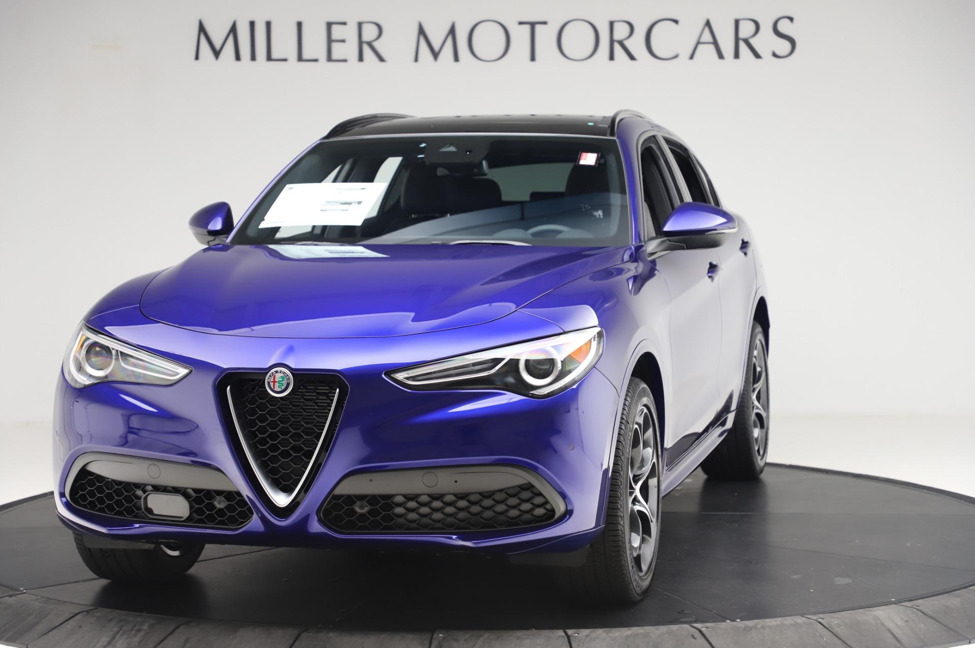 New 2020 Alfa Romeo Stelvio Ti Sport Q4 for sale $57,045 at Rolls-Royce Motor Cars Greenwich in Greenwich CT 06830 1