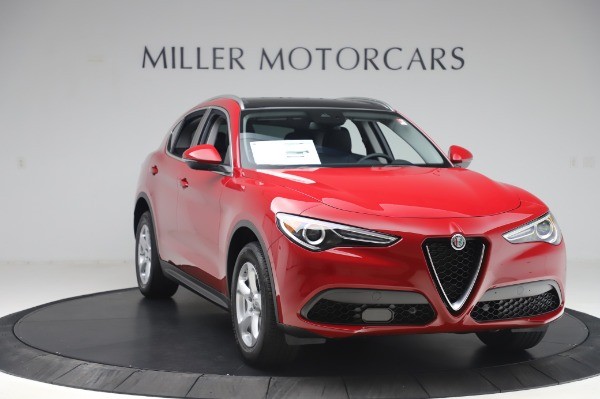 New 2020 Alfa Romeo Stelvio Q4 for sale Sold at Rolls-Royce Motor Cars Greenwich in Greenwich CT 06830 11