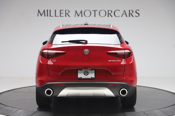 New 2020 Alfa Romeo Stelvio Q4 for sale Sold at Rolls-Royce Motor Cars Greenwich in Greenwich CT 06830 6