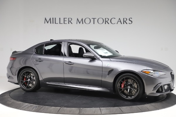 New 2020 Alfa Romeo Giulia Quadrifoglio for sale $87,445 at Rolls-Royce Motor Cars Greenwich in Greenwich CT 06830 10