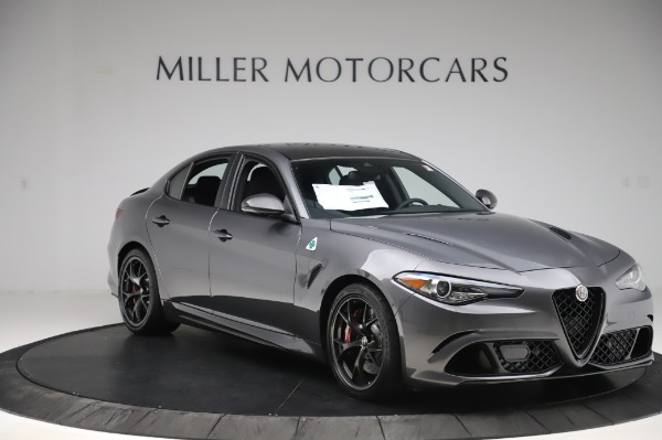 New 2020 Alfa Romeo Giulia Quadrifoglio for sale $87,445 at Rolls-Royce Motor Cars Greenwich in Greenwich CT 06830 11