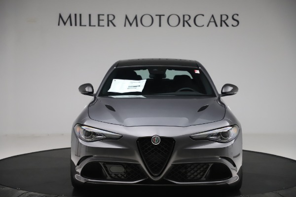 New 2020 Alfa Romeo Giulia Quadrifoglio for sale $87,445 at Rolls-Royce Motor Cars Greenwich in Greenwich CT 06830 12