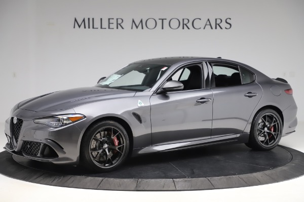 New 2020 Alfa Romeo Giulia Quadrifoglio for sale $87,445 at Rolls-Royce Motor Cars Greenwich in Greenwich CT 06830 2