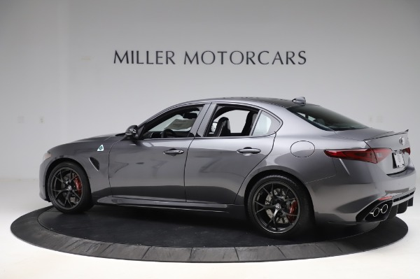 New 2020 Alfa Romeo Giulia Quadrifoglio for sale $87,445 at Rolls-Royce Motor Cars Greenwich in Greenwich CT 06830 4
